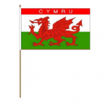 Wales (Cymru) Country Hand Flag - Large